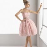 Vestido corto para una novia