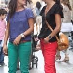 Street style: Pantalones de colores