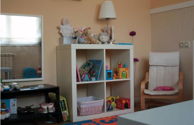 Una habitaci n para ni os basada en la filosof a - Ikea cocina infantil ...