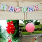 Ideas para el primer cumpleaños…