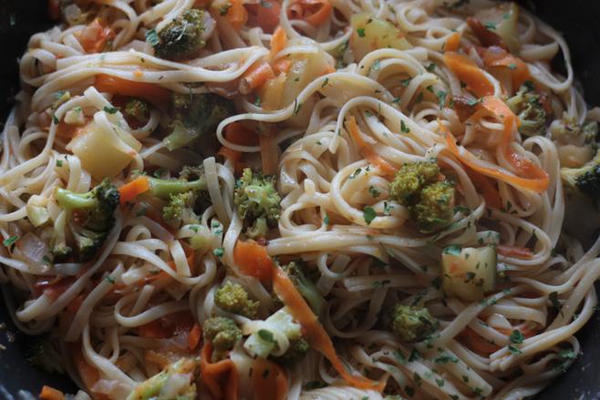 pastaconverduras