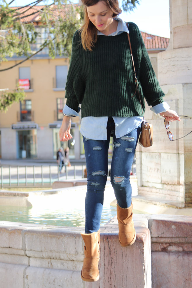Outfits Con Botas Ugg Cafes
