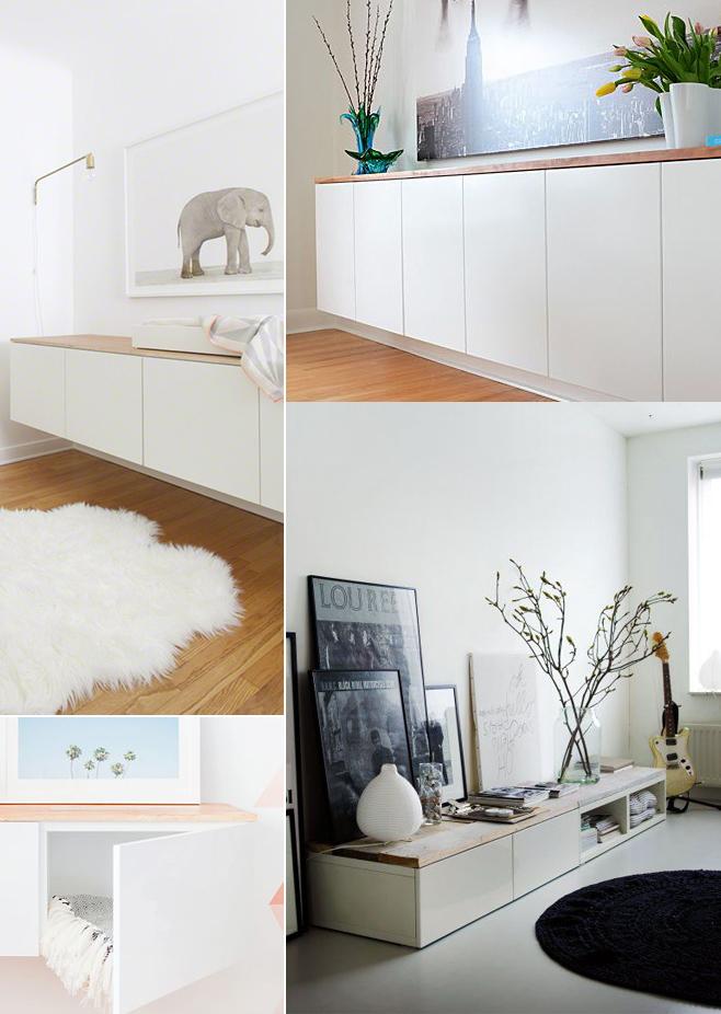 Ikea diy personalizar el mueble besta comparte mi moda - Mueble de salon ikea ...