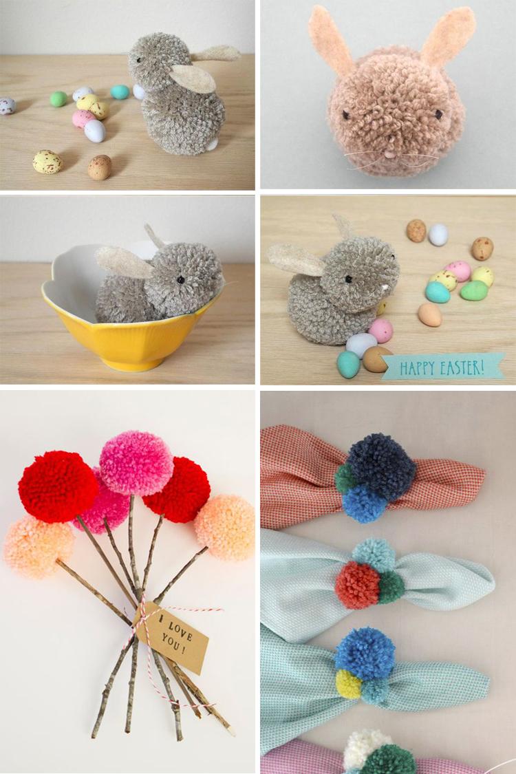 Ideas pompones