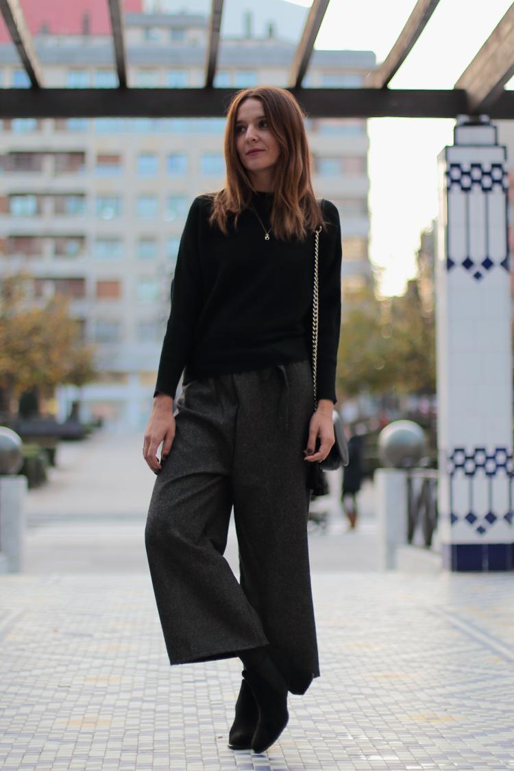 Pantalon Ancho Y Abrigo Amarillo Comparte Mi Moda