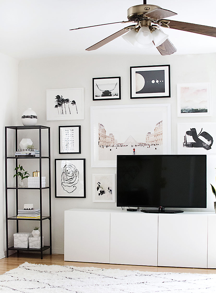 How-to-hang-a-gallery-wall1