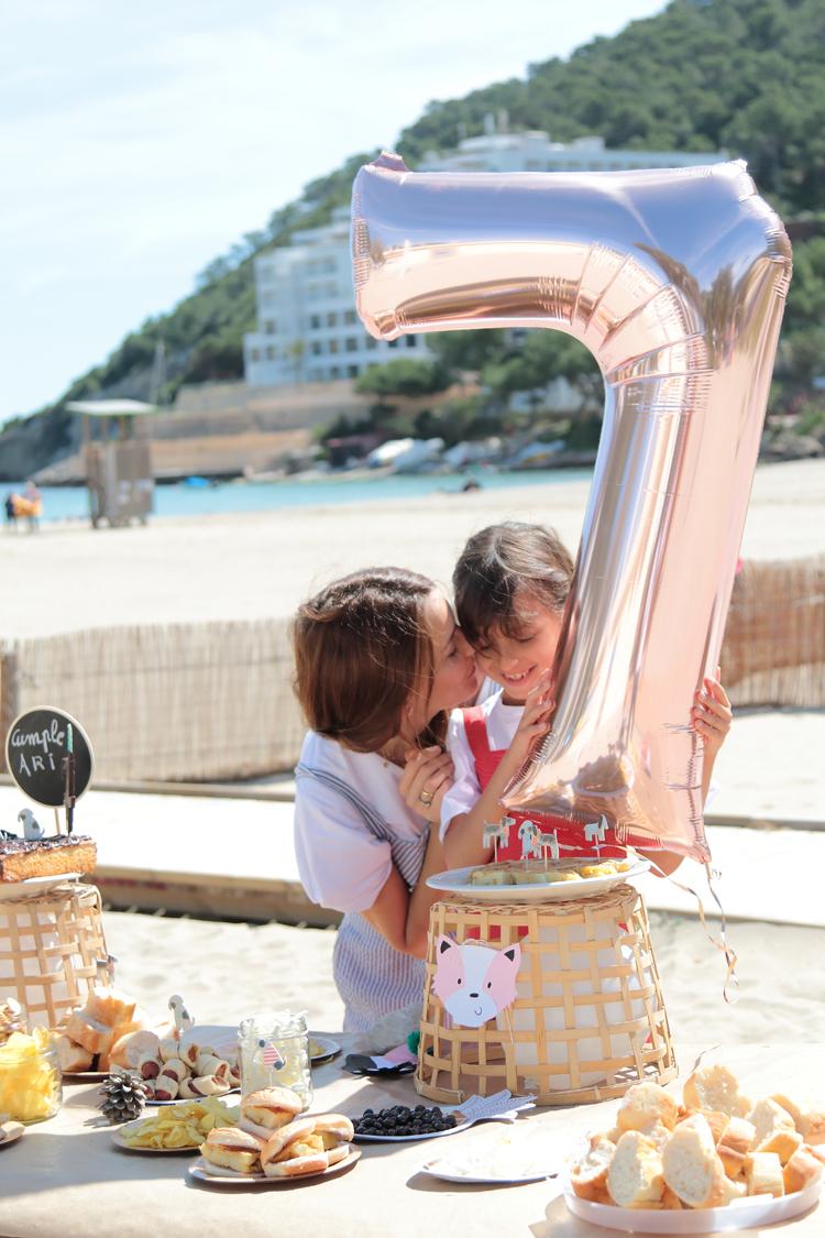 Fiesta De Cumpleanos En La Playa Para Ninas Y Ninos Comparte Mi Moda