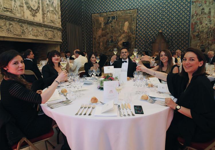 cena de La ordre des coteaux de Champagne